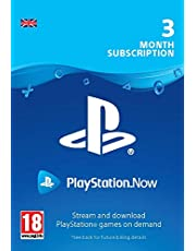 PlayStation Now - Subscription 3 Month PS4 Download Code - UK account