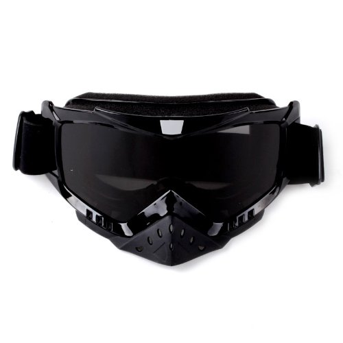 Adult Motorcycle /Off-Road/Dirt Bike Safety Goggles Screen Filter (Tawny)