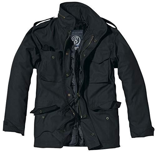 Brandit Men's M-65 Classic Jacket Black Size M ()