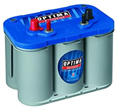 Optima D34M BlueTop is designed as a dual purpose battery, both starting and deep cycle for people who need a sure-starting, strong cranking, and maintenance free power source for their boat or RV, even in harsh conditions. The unique SpiralC...