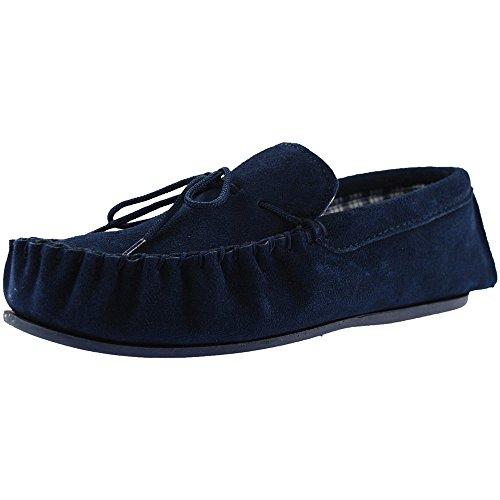 Real Blue Estar Mokkers Suede Casa Navy Hombre Por Para Zapatillas De 7qq8z