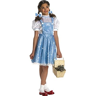 Wizard of Oz Child's Deluxe Sequin Dorothy Costume, Small: Toys & Games