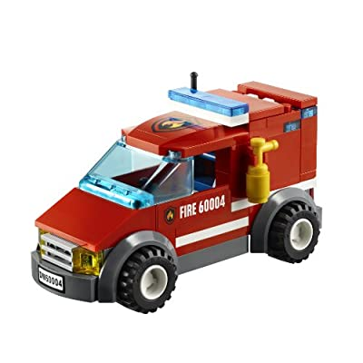 LEGO City Fire Station 60004: Toys & Games