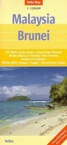 Malaysia - Brunei Nelles Map (Nelles Maps)...