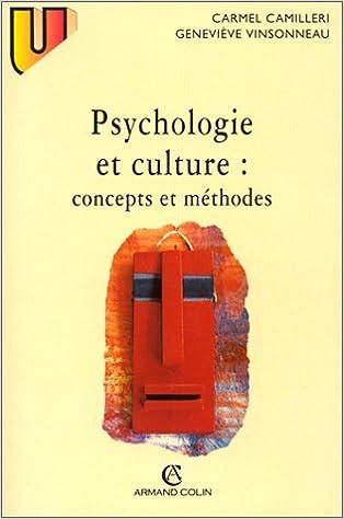 Livre gratuits Psychologie et culture : Concepts et méthodes pdf epub