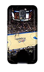 New Style oklahoma city thunder basketball nba NBA Sports & Colleges colorful Samsung Galaxy S5 cases