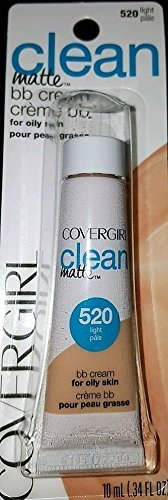 CoverGirl Clean Matte BB Cream for Oily Skin #520 Light Pale