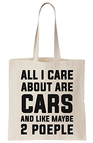 2 Bag Tote People And Cars Are All I Canvas Care About Maybe Like H7g81qUn
