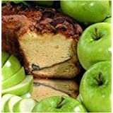 My Grandma APLGCLN Large- 10 in.- 3.1 lbs Lower Fat Granny Smith Apple Coffee Cake, No Nuts
