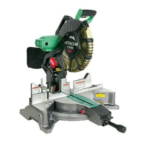 Hitachi 12 inch Dual Bevel Miter Saw with Laser Guide C12FDH New