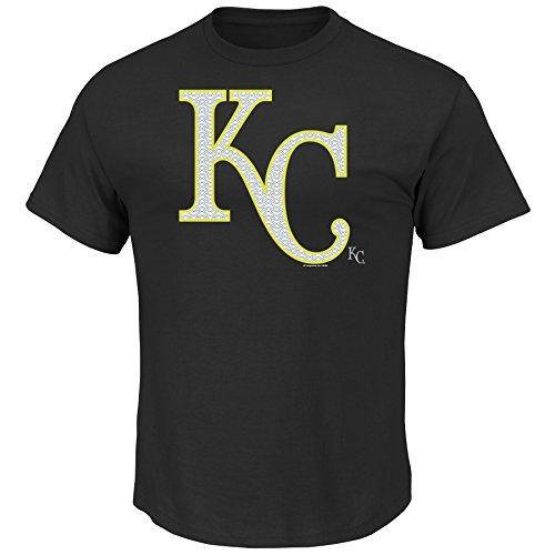 (MLB Kansas City Royals Men's Game Maker Tee, Medium, Black)