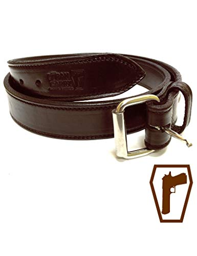 Heavy-Duty CCW Men's Gun Belt • Ultimate Concealed Carry Premium Bullhide • USA Made 1.5