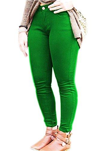 Vaqueros SA Jade Fashions para Mujer Green qYwAOC