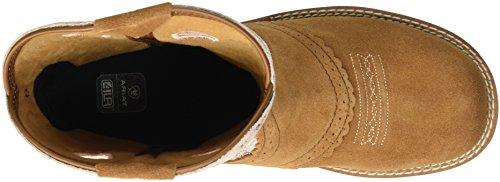 enfant Chaussures golden Dark Pink Unisex Peanut Ariat Cowgirl Fatbaby Western xECvx8wq