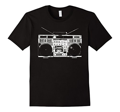 Mens Beatbox Boombox T-Shirt Medium (Mens Boombox)