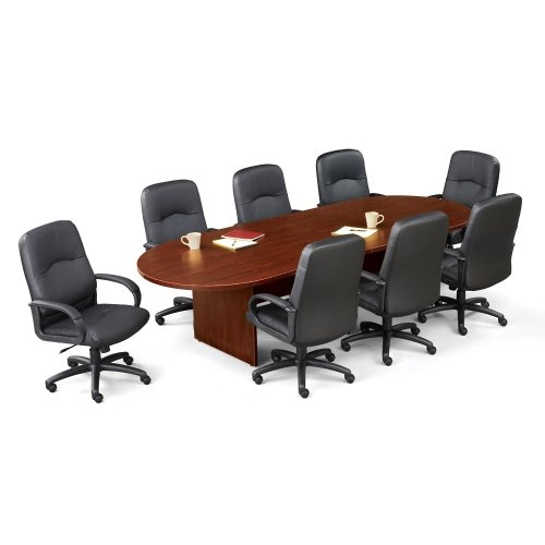 10' Racetrack Conference Table Mahogany