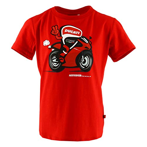 Ducati Corse Moto GP Racing Bike Kids Red T-Shirt Official 2018 -