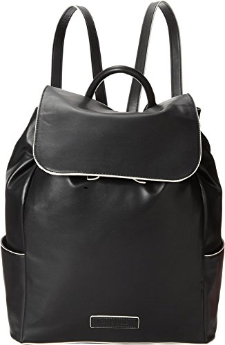 Womens Faux Leather Bradley Backpack Black Vera pS0PwYqaW
