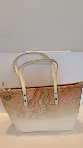 ALVIERO MARTINI Women's Top Handle Bag white bianco