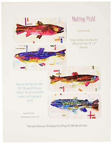 Fiberworks FWLHMF Making Fish Pattern (Fish Quilt Pattern)