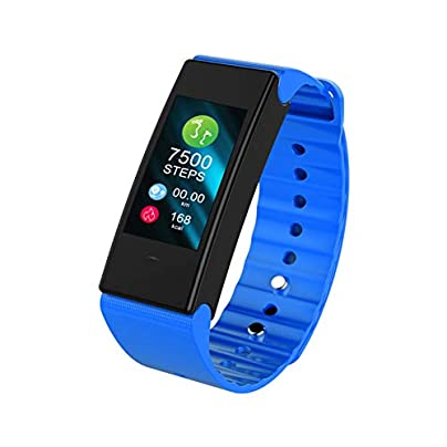 Fitness Tracker water-proof watch Color screen Smart bracelet Wristband Blood pressure heart rate Estimated Price £44.99 -