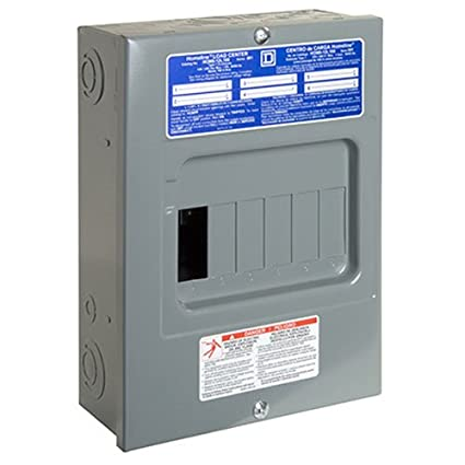 Square D by Schneider Electric HOM612L100SCP Homeline 100 Amp 6-Space on