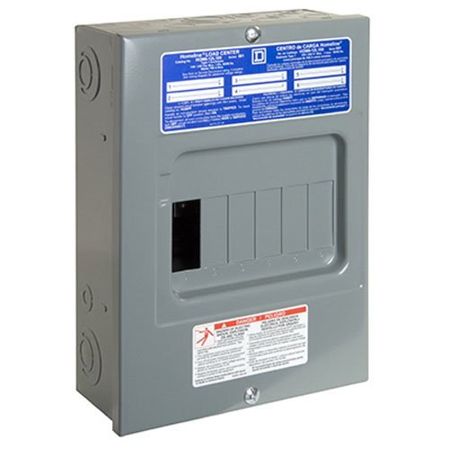 square d 100 amp load center - 8