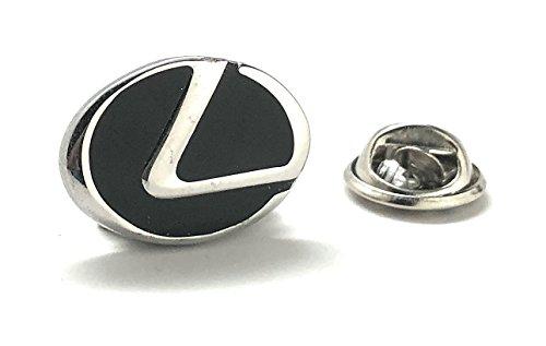 Williams and Clark Men's Executive Lapel Pin Lexus Logo Automobile Famous Car Lapel Pin Tie Tac by Williams and Clark