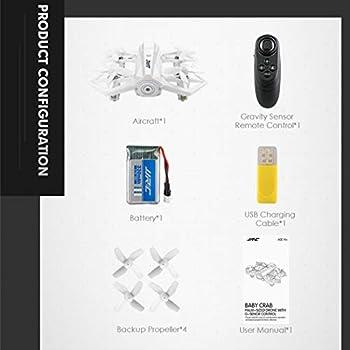 IEnkidu Mini Interactive Gravity Sensor Remote Control Drone Quadcopter Gift
