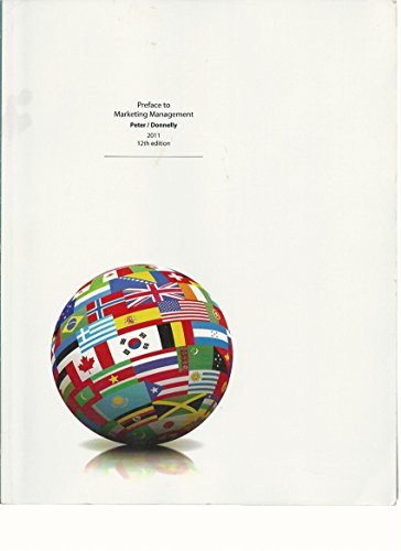 Preface To Marketing Management 2011 12th Edition