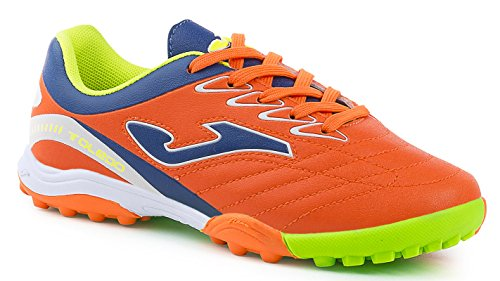JOMA CALCETTO TOLEDO JR TURF Futbal Fall Winter FUTBOL SALA NARANJA FLUOR TF 33