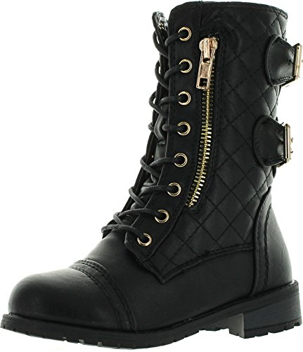 Motorcycle Buckle Boots - 2