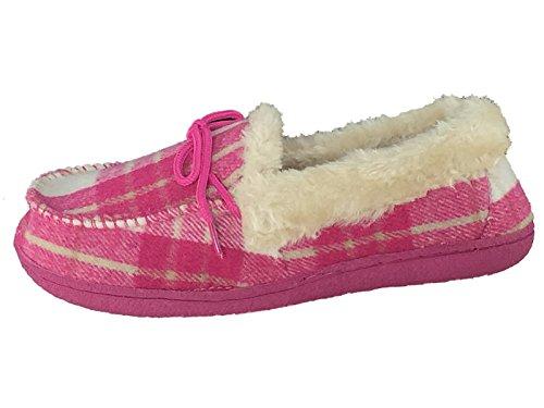 SaneShoppe - Zapatillas de casa Mujer fucsia