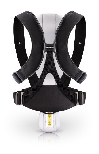BABYBJORN Baby Carrier Miracle, Black/Silver, Cotton Mix Gift, Baby, NewBorn, Child