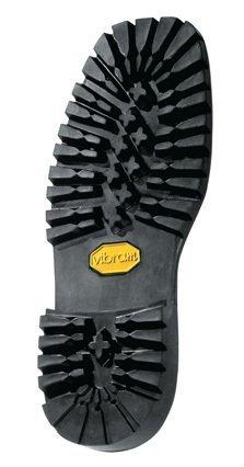Vibram # 132 Montagna Block Unit Sole Black Color Size 11 - Shoe Repair - 1 Pair