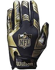 Wilson Amerikansk fotbollsmottagare handskar NFL STRETCH FIT RECEIVERS GLOVE, en storlek