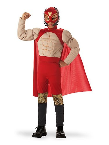 El Diablo Luchadore Child Costume - (Sports Costume Ideas For Boys)