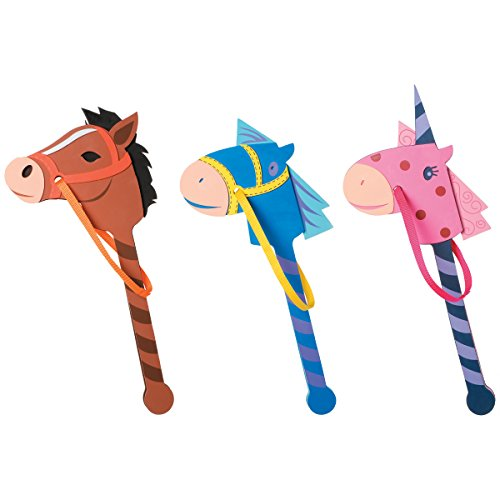 Foamies Horse Stick Assorted Colors
