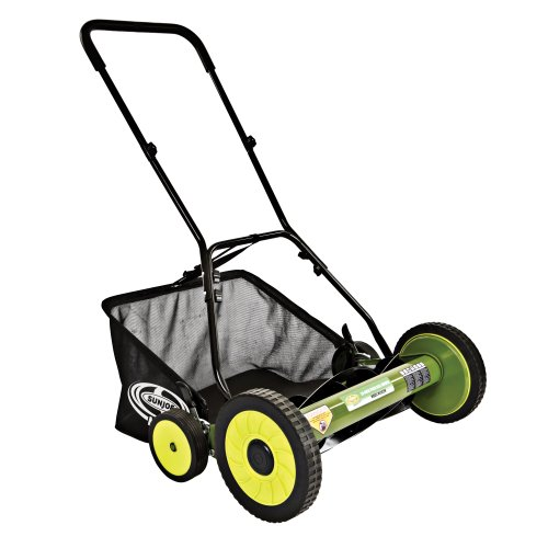 Sun Joe Mow Joe MJ502M 20-Inch Manual Reel Mower with Catcher