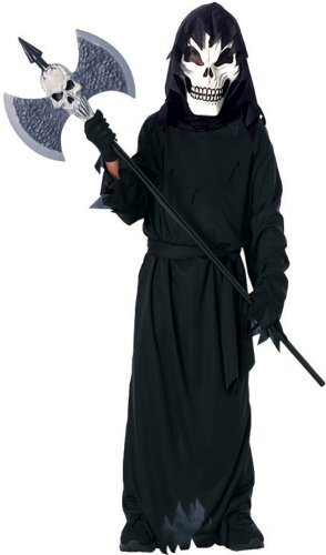 Scary Cool Ghoul Costume, Small-Size 4-6, For 3-4 Years of A