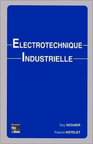 Livre gratuits Electrotechnique industrielle epub pdf