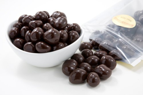 Dark Chocolate Covered Macadamias (1 Pound Bag) (Superior Chocolate)