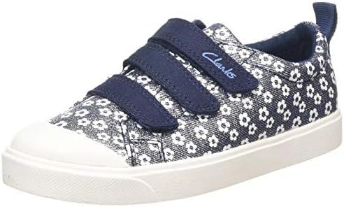 Clarks Unisex Kids/' City Vibe K Low-Top Sneakers