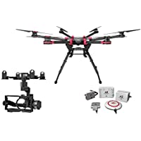 DJI Spreading Wings S900 Professional Hexacopter with DJI A2 Flight Controller and Any Z15 Gimbal