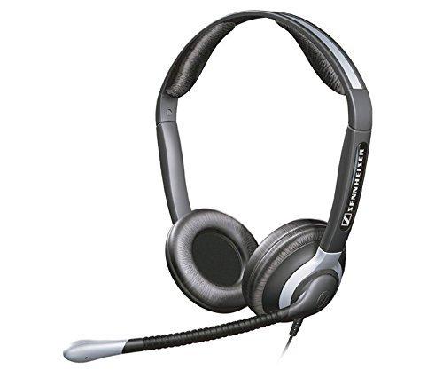 Sennheiser Over The Head Headset - Sennheiser Over-the-Head CC550 Binaural Premium Headset with Ultra Noise Canceling Microphone