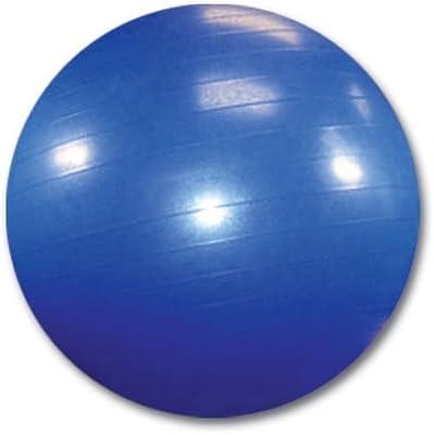 Pelota para yoga, fitness, pilates con bomba, azul, Ø 65 cm ...