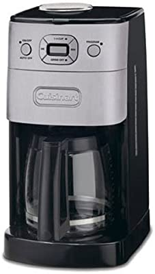 Cuisinart grind-and-brew térmica 10 tazas cafetera automática ...