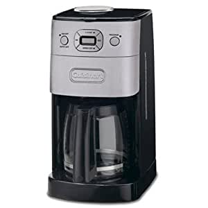 Cuisinart Coffee Maker Dripping : Amazon.com: Cuisinart DGB-625BC Grind-and-Brew 12-Cup Automatic Coffeemaker, Brushed Metal: Drip ...