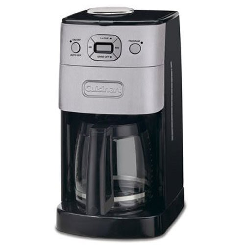Cuisinart Automatic Grind And Brew Coffee Maker User Manual : Cuisinart DGB-625BC Grind-and-Brew 12-Cup Automatic Coffeemaker, Brushed Metal, Desertcart