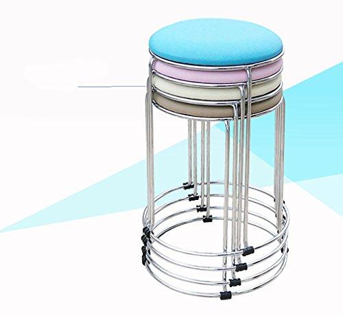 Hocker Mode Ideen Einfache Home Hocker Kleine Hocker Farbe Kissen Metall Klappstuhl Hocker Bankhocker Stühle ( Farbe : I )